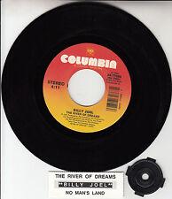"BILLY JOEL  The River Of Dreams 7"" 45 rpm record + juke box title strip RARE!"