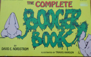 The Complete Booger Book by David E Nordstrom (Paperback 1994)