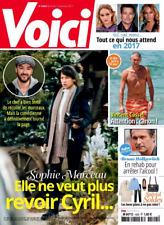 VOICI n°1522 du 6-12/1/2017*Sophie MARCEAU*Vincent CASSEL*Bruno WOLKOWITCH*Solde