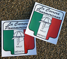 Carrera Panamericana stickers Classic Vintage style LOGO Porsche Mercedes Audi