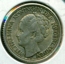 1944 NETHERLANDS 1/4 GULDEN, EXTRA FINE, GREAT PRICE!