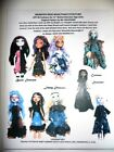 NG Creations Pattern #4 Sew Nine Dresses Basic - Couture fits Monster High Dolls