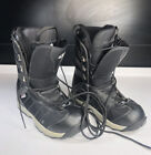 Morrow Rail Snowboard Boots Black (Unisex) Lace Up Style Shoes Size 12