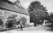 Postcard Broadwater Village Worthing Sussex Soldier & Lady Dated 1928 RP j1