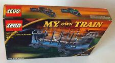 Lego® My own Train 10013 - Offener Frachtwagen 121 Teile 8+ Neu/New