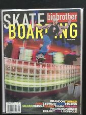 May 2003 Big Brother Skateboard Magazine Pat Duffy Plan B
