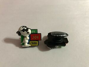 Snoopy Be Joe Cool Shoe-Doodle  Snoopy Be Joe Cool Shoe Charm for Crocs PEA3003