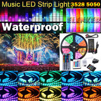 EK 5M-20M 5050 3528 SMD RGB Flexible Strip LED Light Waterproof 12V 300 led Lamp