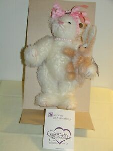Vintage Annette Funicello Some Bunny Loves Me Bear by Papel Giftware 12in c2000