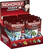 MONOPOLY GAMER SUPER MARIO KART - CHOICE OF 6 DIFFERENT COLOUR CARS - NEW PACKED