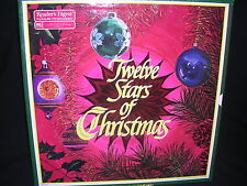 Twelve Stars Of Christmas 6 Record Set NM/VG+ Free Shipping