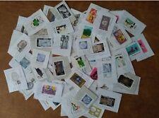 lot de 60 timbres français oblitérés différents de 2018 - 3 séries complètes