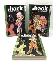 .hack  Legend of the Twilight Vol.1-2-3 Manga,fantasy, English