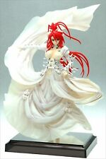 Orchid Seed Jingai Makyo Ignis In White Dress 1/7 Scale PVC Figure