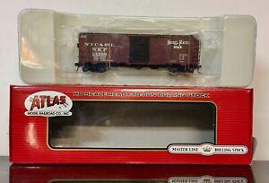HO Atlas Master Line Nickel Plate Road 40 ft PS-1 Box Car rd # 13399