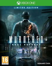 Xbox One Murdered: Soul Suspect Limited Edition Game for the New Xbox 1 NEW