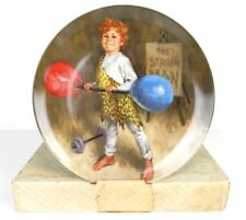 Johnny the Strong Man Plate by Reco -McClelland Children's Circus Collection