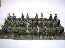 24 DIPINTI ANTICHI CINESI 15 mm Cavallo Archer CAVALLERIA da museo per dbmm Nebbia