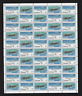 Canada - Full Pane of 50 - 1980, Military Aircraft #873-874 - MNH