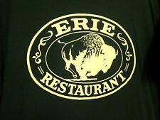 ERIE RESTAURANT tee XL logo T shirt Buffalo Burger Steaks bar Michigan