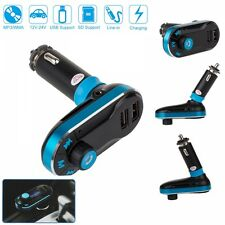 Bluetooth Car MP3 Player FM Wireless Transmitter Handsfree USB SD LCD Charger Ki