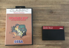 Wonder Boy in Monster World -- Classic Version -- Sega Master System
