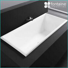1500 Drop in Bath Tub Bathtub Square Modern Bathroom Quality NEW!