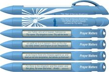 Prayer Matters-Lord's Prayer Rotating Message Pens, 6 Pack Pen (36032)