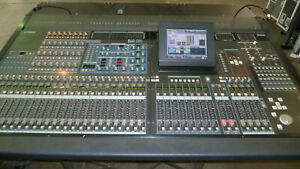 Yamaha PM5D-RH digital mixing console with DSP5D IO to make 96 input channels