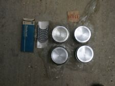 MG MGB 1800 Engine Set of 4 Pistons and Rings Plus 40 CIRCLIP FIT 4 Ring