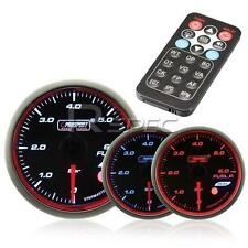Prosport 60mm Oil Temperature Gauge BAR Smoked Stepper with Remote Control