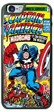 Captain America MadBomb Customize Phone Case Cover Fits iPhone Samsung HTC etc