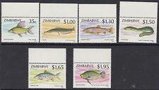 ZIMBABWE :1994 Fish series 2  set SG 864-9   never-hinged mint