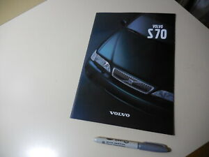 VOLVO S70 Japanese Brochure 1998/09 8B5252/5254
