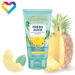 Bielenda FRESH JUICE Pineapple - Enzymatic Face Peeling Brightening 150ml