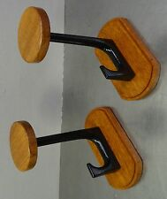 mid century design 60s - Paar Garderoben Aufhänger 2 Teak Holz Haken 60er
