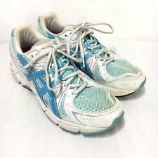 Asics Gel 1170 Womens 7 Blue White Lace Up Athletic Running Shoes