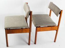 Pair of Retro Danish Style Teak Dining Chairs [5860 ]