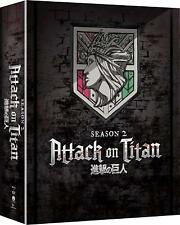 Attack on Titan - Season Two (2) Limited Edition [Bluray + DVD] Brand New!
