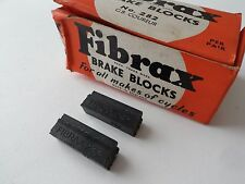 *NOS Vintage FIBRAX 282 'GB Coureur' brake block pads (One Pair)*