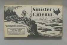 "Sinister Cinema VHS Classic Horror Strange Movies ""The Judge"" Rare VCR Tape"