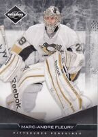 MARC-ANDRE FLEURY NO:182 CERTIFIED BLACK 19/99 in PANINI CERTIFIED 2011-12   a