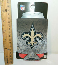 New Orleans Saints Beer Koozie Can Coolie TailGate Party holder 100th Year Nfl