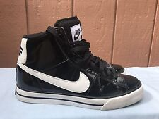 EUC Nike Sweet Classic High Women's Sneakers Black 354697-022 Sz US 8.5 EUR 40