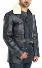 Collared Long Regular Size Military Coats & Jackets for Men
