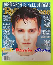 ROLLING STONE USA MAGAZINE 788/1998 Johnny Depp Sean Lennon Beastie Boys  No cd