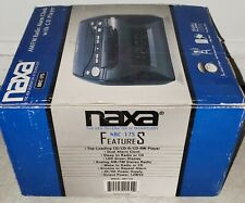 Naxa Nrc-175 Digital Alarm with Digital Tuning Am-Fm Radio and Cd Player Nib