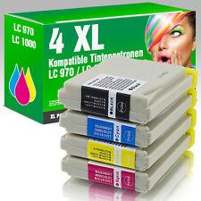4 Druckerpatronen für Brother LC1000 DCP 357 C