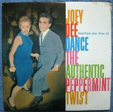"""PEPPERMINT TWIST"" Dance Manual-1962 & 45rpm- Joey Dee & The Starliters- - RARE!"
