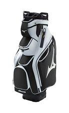 """Mizuno Pro Cart Golf Bag 10"""" 14-Way Top 8 Pocket White Black MSRP $280"""